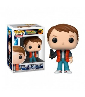 FIGURA POP BACK TO THE FUTURE - MARTY IN PUFFTY VE