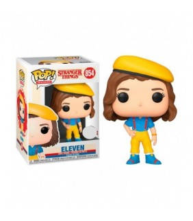 FIGURA POP STRANGER THINGS ELEVEN IN YELLOW OUTFIT
