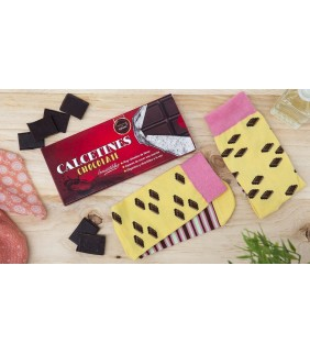 Calcetines chocolate para mujer 36/38