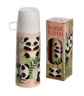 Termo de Acero Inoxidable Oso Panda 350ml