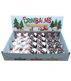Bálsamo labial Navidad Oso...