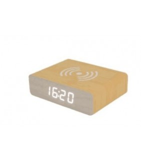 Reloj despertador cargador Fisura