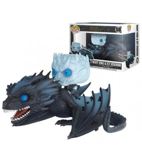 Figura POP Night King & Icy Viserion