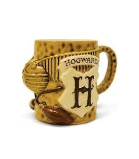 "Taza 3D QUIDDITCH""  HARRY..."