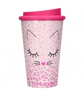 Vaso con tapa To-Go Cat TopModel