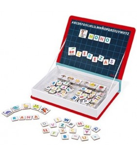3-8AÑOS.Magnetic book. Alfabeto español