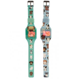 Reloj de muñeca Digital Infantil de silicona 2m