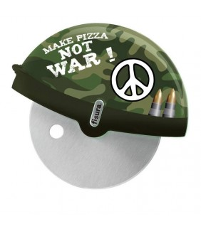 Cortador de pizza Make pizza not War