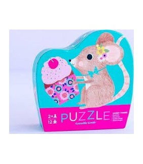 +2 AÑOS.12pc Mini Puzzle Sweet Things
