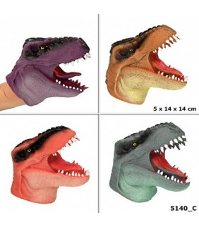 Marioneta de goma Dino World surtido