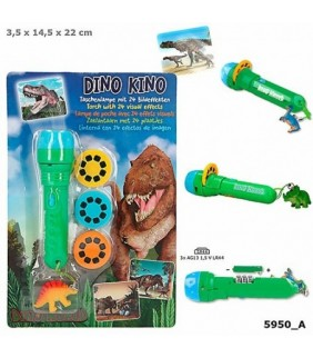 Linterna con efectos de imagen Dino World