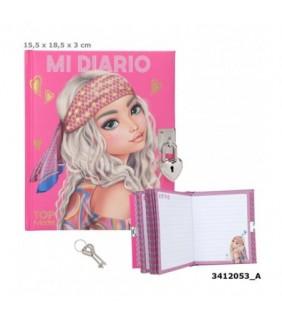 Peluche alpaca Polly rosa 21cm