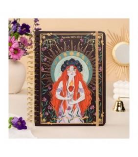 Marco de fotos y reloj giratorio