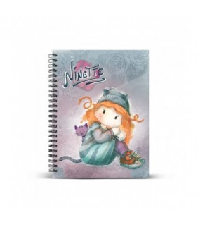 Cuaderno A4 Ninette