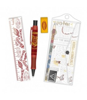 Set papeleria Quidditch Harry Potter
