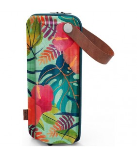 Funda Botella Flow Tropical EVA