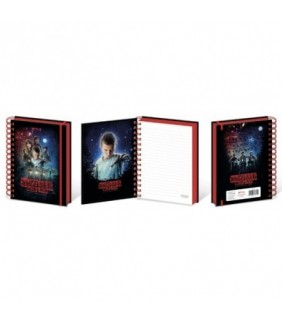 Cuaderno A5 poster Stranger Things