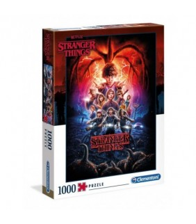 Puzzle poster Temporada 2 stranger Things 1000pz