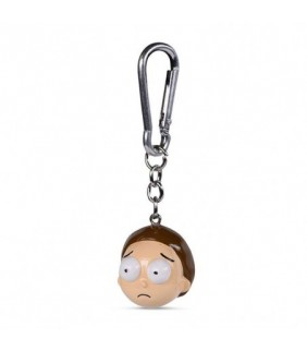 Rick and Morty 3D-Keychains Morty 4 cm Case