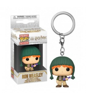 Llavero Pocket Harry Potter Holiday Ron